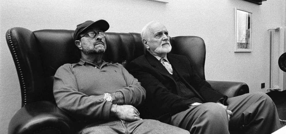 Lucio Dalla e Roberto Roversi