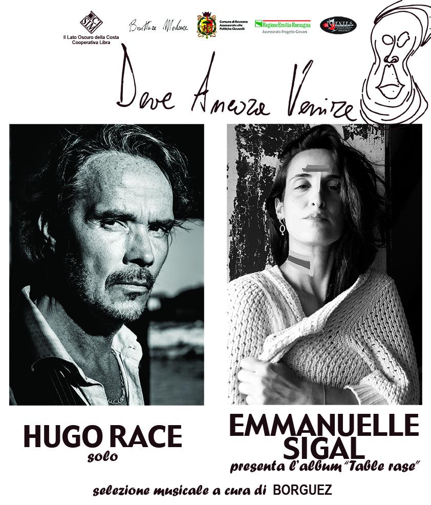 Venerdì 1 dicembre | DEVE ANCORA VENIRE: Hugo Race / Emmanuelle Sigal